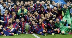Barcelona, winners of last UEFA champions League