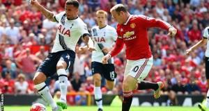 Man United vrs Tottenham