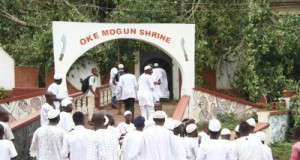 traditionalists at the Ooni's funeral service