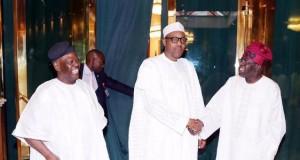 Akande, Buhari and Tinubu
