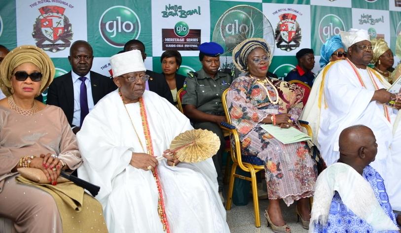 Balogun and Awujale @ Ojude Oba