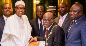 Buhari and ICAN President