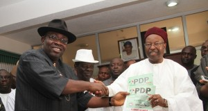 Dickson submits PDP form