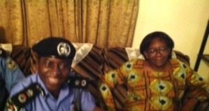 Donu Kogbara with state Police Commissioner