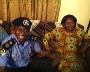 Donu Kogbara with state Police Commissioner
