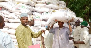 Fertiliser distribution in Bauchi