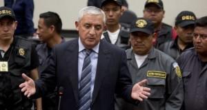 Guatemala ex-President Otto Perez Molina