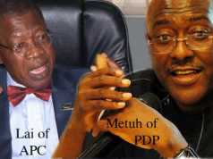 Lai Mohammed and Olisa Metuh