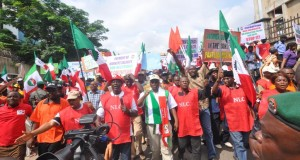 NLC rally in support of anti-corruption war in Abuja