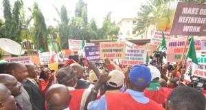 NLC anti-corruption rally in Abuja