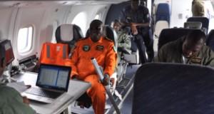 Nigerian Airforce on surveillance