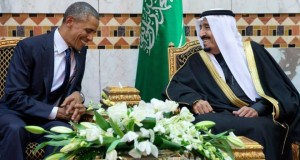 President Barack Obama and Saudi King Salman
