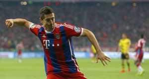Bayern Munich's Lewandowski