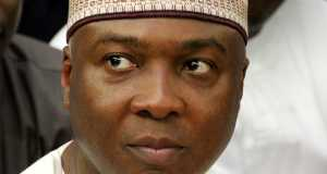 Saraki at the Code of Conduct Tribunal