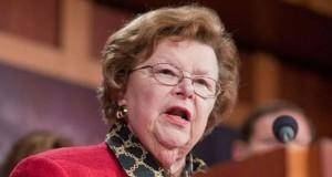Senator Barbara Mikulski of Maryland