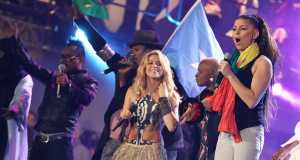 Shakira and Angélique Kidjo