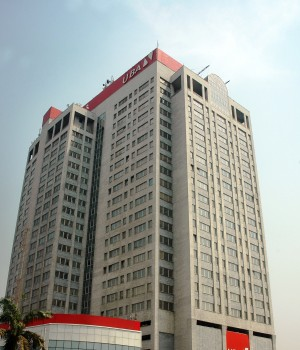 UBA House at Marina, Lagos, Nigeria
