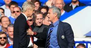 Wenger and Jose Mourinho