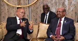 President Jacob Zuma and al-Bashir