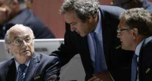 Blatter, Platini and Valke