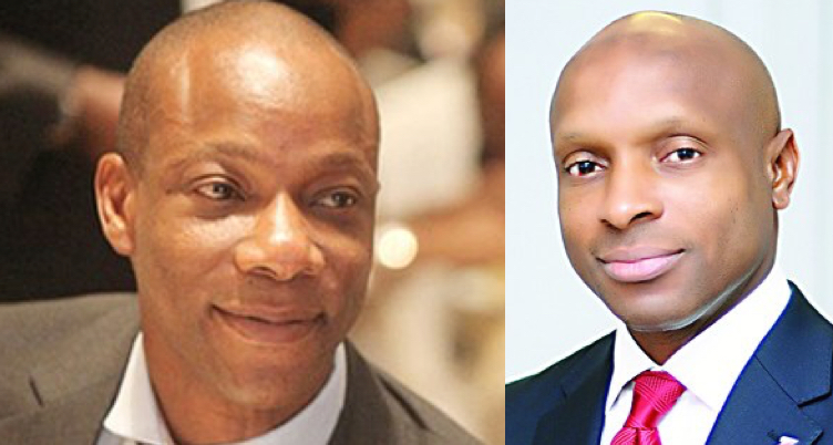Segun Agbaje of GTBank and Zenith MD, Peter Amangbo