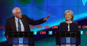 Hillary-Clinton and Bernie-Sanders-Debate-Quotes-2015