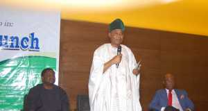 Chief Ajibola Ogunsholsa, Chairman, GOCOP launch at the event