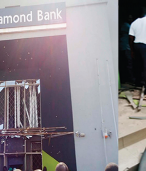 Diamond bank attacked by robbers