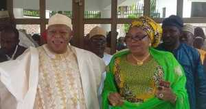 Abubakar Audu and Hajiya Halima Alfa