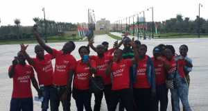 Winners of the UBA Remittance Awoof Promo in Dubai, United Arab Emirates, enjoying a day out as part of their 3-day all expense paid trip sponsored by United Bank for Africa Plc in appreciation of customers who received MoneyGram and Western Union money transfers through the Bank.