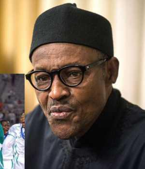 Buhari and Eaglets