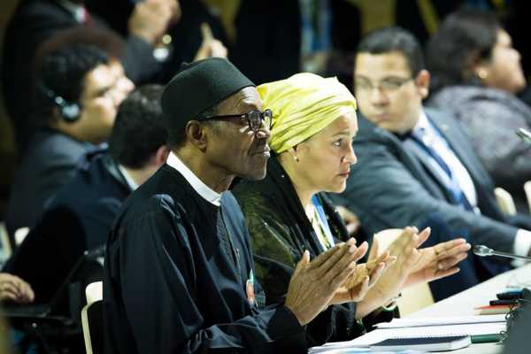 Buhari at the Climate Change Conference