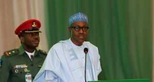 Buhari at the Minister-designate retreat