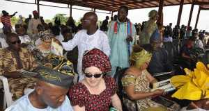 Guests at the last Oronna Ilaro Festival