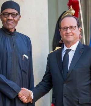 President-François-Hollande-And-President-Muhammadu-Buhari-