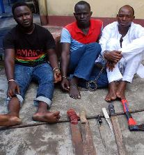 Robbers arrested by RRS operatives in Lagos