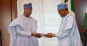 Saraki hands over list of confirmed ministers to President Buhari
