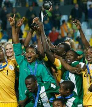 The victorious Golden Eaglets