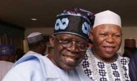 Tinubu and late Abubakar Audu