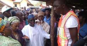 Wada at polling station