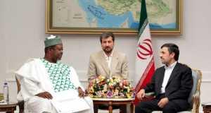 Ambassador Tukur Mani meeting with Iranian leader