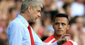 Arsene Wenger and Sanchez