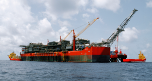 The Bonga Floating Production, Storage and Offloading Vessel