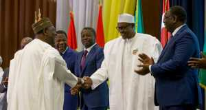 Buhari, Gowon and other ECOWAS leaders