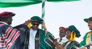 Buhari's conferment at Kaduna State University