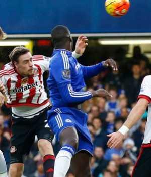 Chelsea and Sunderland