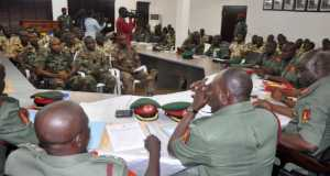 Court Martial in session