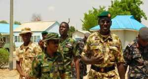 Gen. Buratai addresses troops