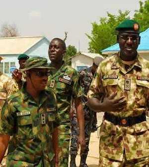 Gen. Buratai addresses troops