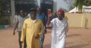 Gov. Umahi and Ogbonnaya Onu